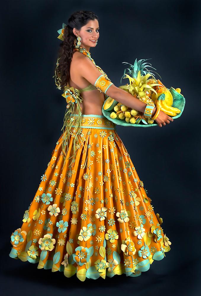 Paper Dresses Sanchez Arias Photography